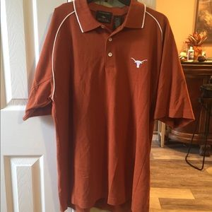 Texas Longhorn dry fit polo men's shirt medium